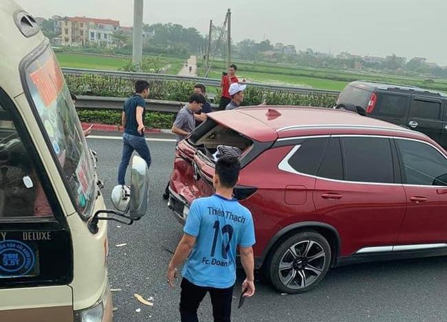 Vụ tai nạn xảy ra tại km198