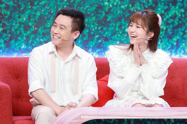 Hữu Tín công khai bạn gái xinh đẹp trên sóng truyền hình - Ảnh 4.