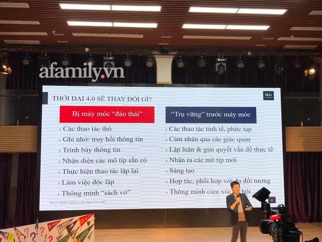 Tiến sĩ Standford Nguyễn Chí Hiếu chỉ ra những kỹ năng thế hệ Alpha cần có, bố mẹ chú trọng bồi dưỡng để tương lai con không thất nghiệp - Ảnh 3.