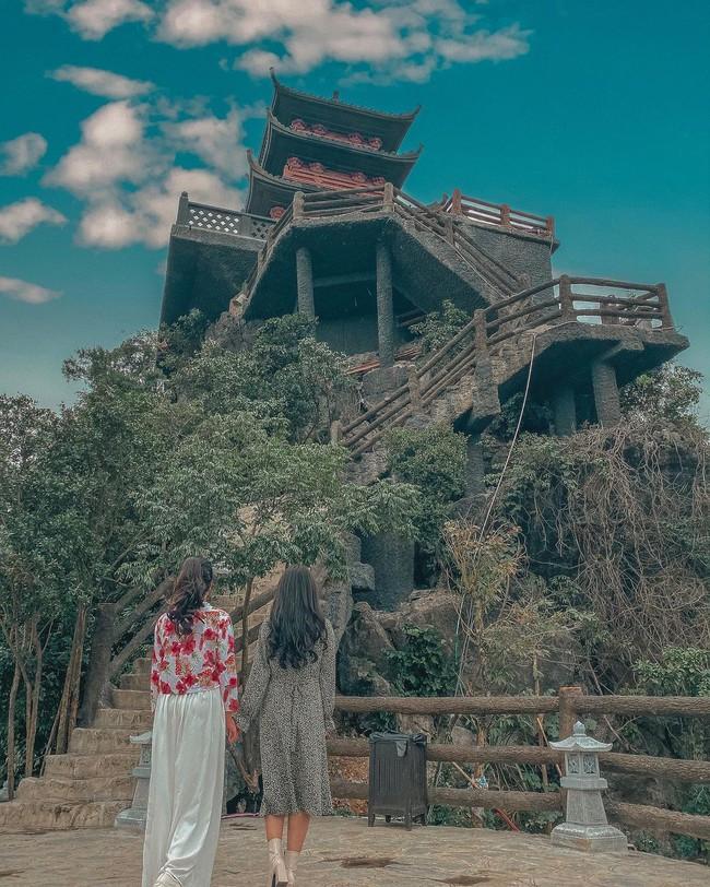 Kinh nghiệm đi chùa Tam Chúc vào ngày ngày, giờ này để không bị đông nghẹt người mà lại ngắm được ảnh đẹp - Ảnh 5.