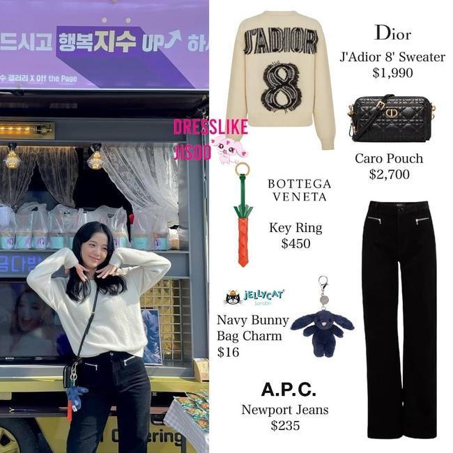 """Cùng một chiếc quần, Jisoo biến hóa cực """"ngọt"""" từ style nhẹ nhàng sang cá tính sắc lẹm - Ảnh 6."""