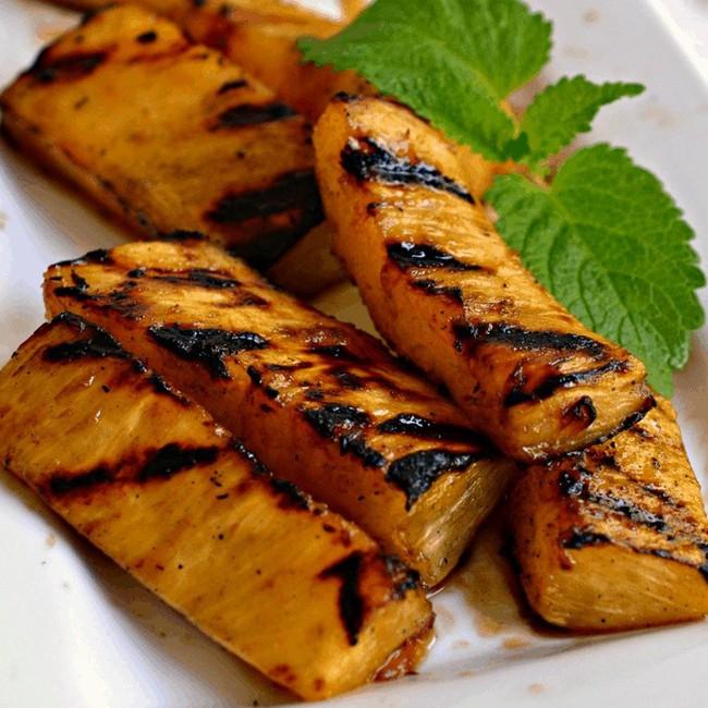 """Mách chị em cách làm dứa nướng thơm lừng cả nhà: Ăn là đảm bảo """"nghiện""""! - Ảnh 4."""