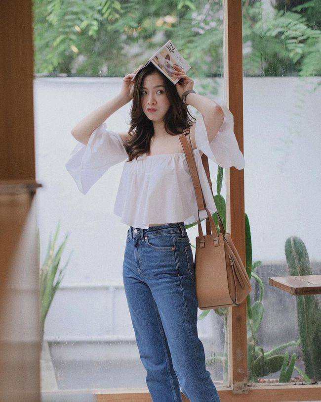 Chỉ cần học 12 outfit của Baifern, style Xuân/Hè 2021 của chị em chắc chắn sẽ trẻ đẹp hơn hẳn năm ngoái - Ảnh 12.