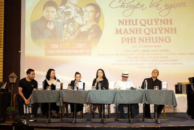 Như Quỳnh, Phi Nhung và Mạnh Quỳnh bắt tay thực hiện đêm nhạc bolero dành cho khán giả thủ đô - Ảnh 3.