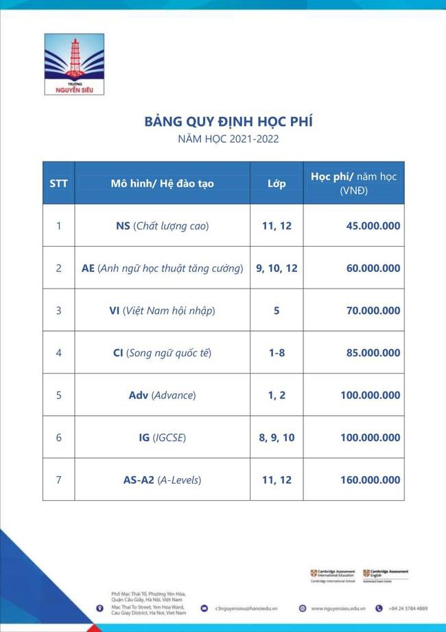 Danh sách các trường tư nổi tiếng ở Hà Nội có mức học phí dưới 150 triệu đồng/năm, bố mẹ cân nhắc tài chính để cho con học - Ảnh 11.