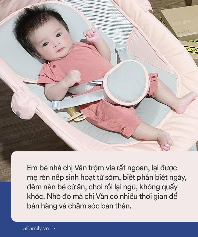 Nhờ bí quyết nuôi con nhàn tênh, mẹ bỉm sữa vừa chăm con nhỏ vừa bán hàng online, tháng cao điểm lãi 100 triệu đồng - Ảnh 4.