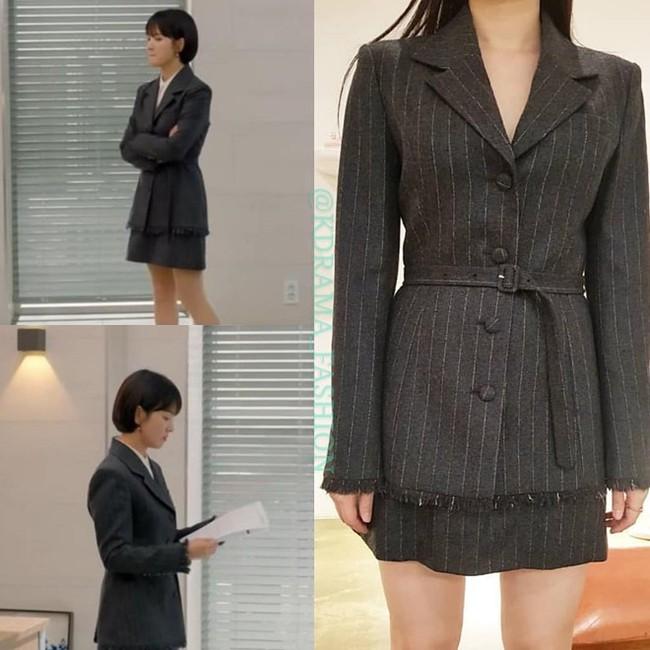"""Song Hye Kyo diện blazer không bao giờ """"fail"""", sương sương cũng có 13 cách mặc trẻ và sang tuyệt đối - Ảnh 4."""