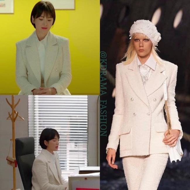 """Song Hye Kyo diện blazer không bao giờ """"fail"""", sương sương cũng có 13 cách mặc trẻ và sang tuyệt đối - Ảnh 6."""