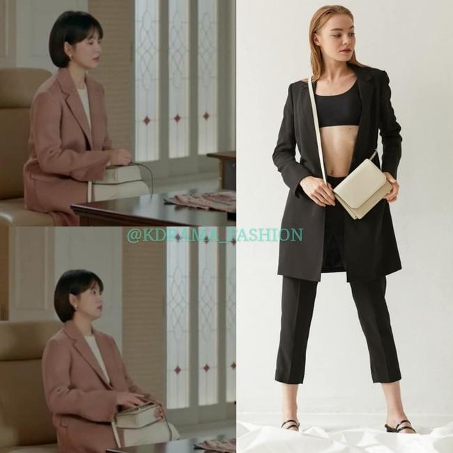 """Song Hye Kyo diện blazer không bao giờ """"fail"""", sương sương cũng có 13 cách mặc trẻ và sang tuyệt đối - Ảnh 7."""