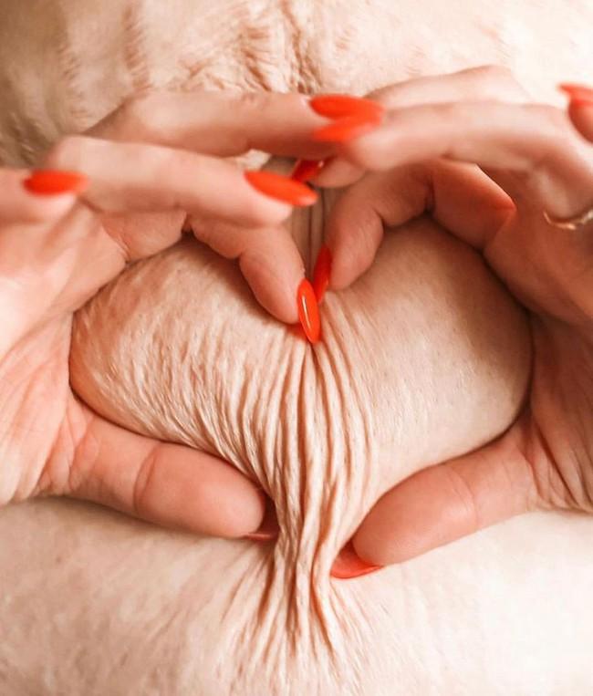 Những bức ảnh đầy ám ảnh cho thấy cơ thể người phụ nữ đã thay đổi kinh khủng thế nào sau 4 lần mang thai