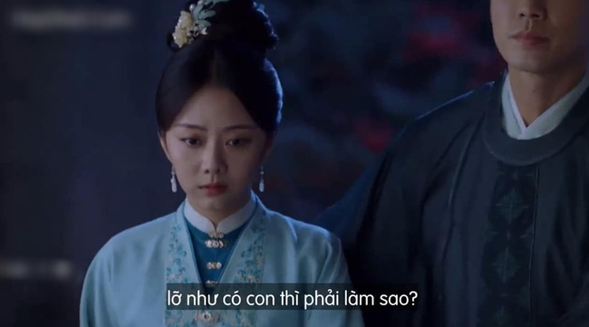Cẩm tâm tựa ngọc: Đàm Tùng Vận vừa e thẹn vì Chung Hán Lương bồng bế, đã vội tái mặt vì sợ chồng làm có bầu - Ảnh 9.