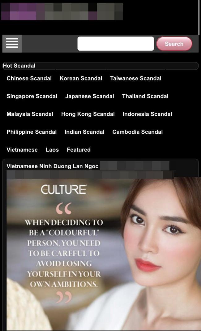 Rộ nghi vấn Ninh Dương Lan Ngọc bị lộ clip nóng trên trang web 18+ - Ảnh 2.