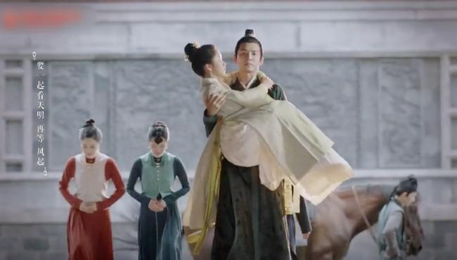 Cẩm tâm tựa ngọc: Đàm Tùng Vận vừa e thẹn vì Chung Hán Lương bồng bế, đã vội tái mặt vì sợ chồng làm có bầu - Ảnh 2.