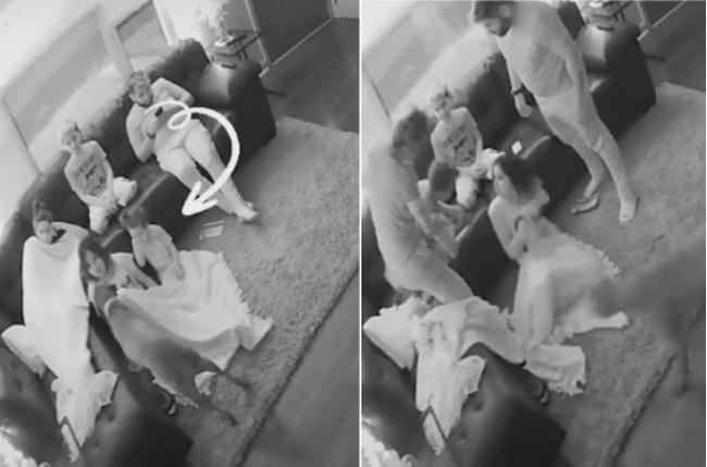 Cả nhà đang ngồi xem tivi với nhau, đột nhiên cô con gái út kêu lên, bà mẹ liền làm ngay một việc cứu con đang ngàn cân treo sợi tóc - Ảnh 2.