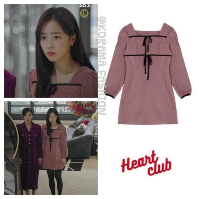 """""""Tiểu thư mắt trợn"""" Ha Eun Byeol có cả một bộ sưu tập váy điệu không rich kids nào làm lại được trong Penthouse - Ảnh 10."""