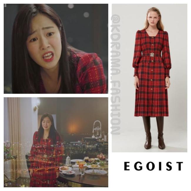 """""""Tiểu thư mắt trợn"""" Ha Eun Byeol có cả một bộ sưu tập váy điệu không rich kids nào làm lại được trong Penthouse - Ảnh 8."""
