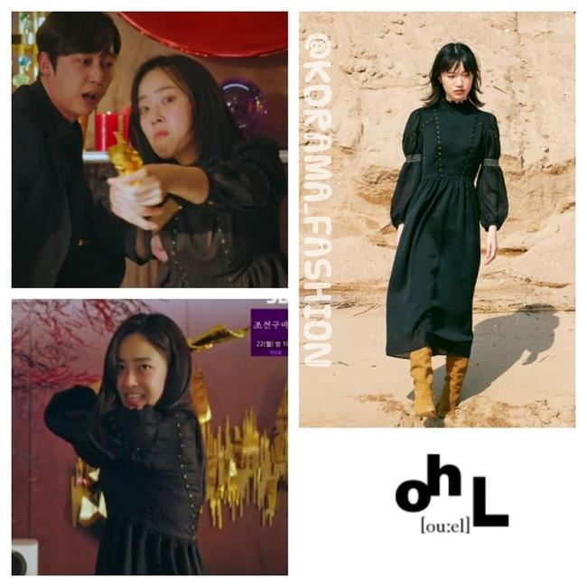 """""""Tiểu thư mắt trợn"""" Ha Eun Byeol có cả một bộ sưu tập váy điệu không rich kids nào làm lại được trong Penthouse - Ảnh 5."""