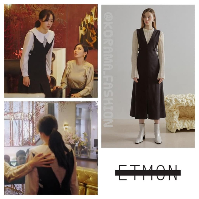 """""""Tiểu thư mắt trợn"""" Ha Eun Byeol có cả một bộ sưu tập váy điệu không rich kids nào làm lại được trong Penthouse - Ảnh 2."""