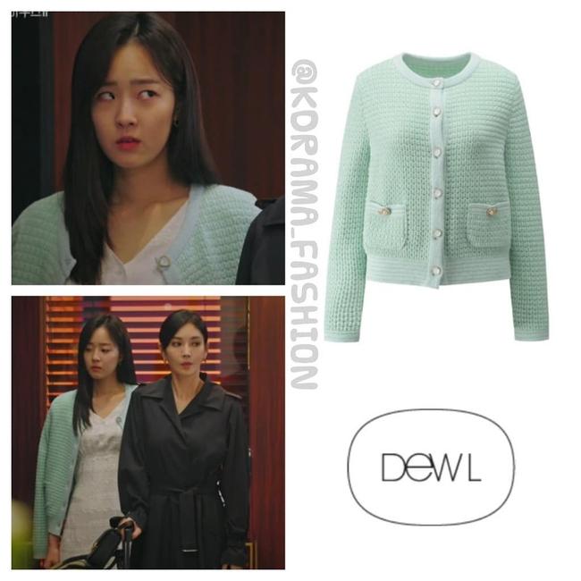 """""""Tiểu thư mắt trợn"""" Ha Eun Byeol có cả một bộ sưu tập váy điệu không rich kids nào làm lại được trong Penthouse - Ảnh 4."""
