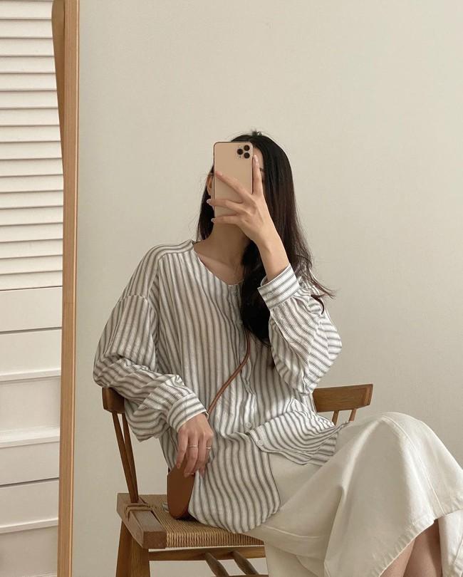Nàng BTV khẳng định mua kiểu áo sơ mi này là quyết định cực sáng suốt vì mặc kiểu gì cũng đẹp - Ảnh 9.
