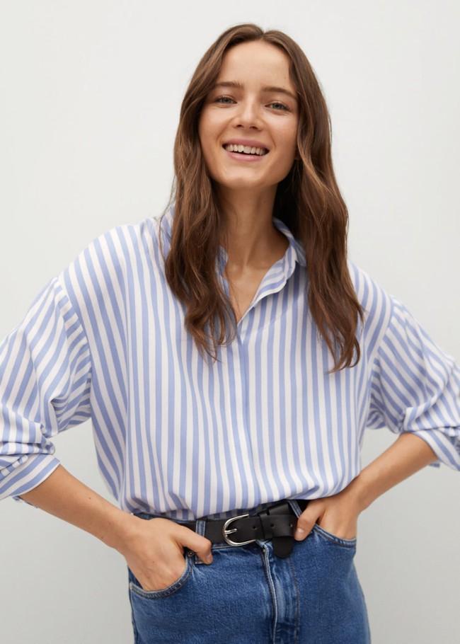 Nàng BTV khẳng định mua kiểu áo sơ mi này là quyết định cực sáng suốt vì mặc kiểu gì cũng đẹp - Ảnh 5.