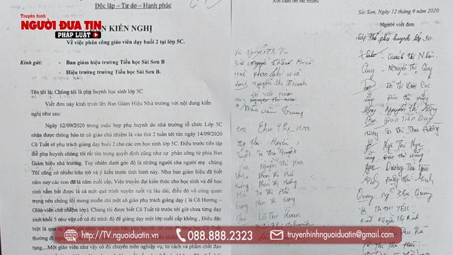 Chống tiêu cực, hai giáo viên ở Hà Nội kêu cứu vì bị cấp trên trù dập - Ảnh 3.