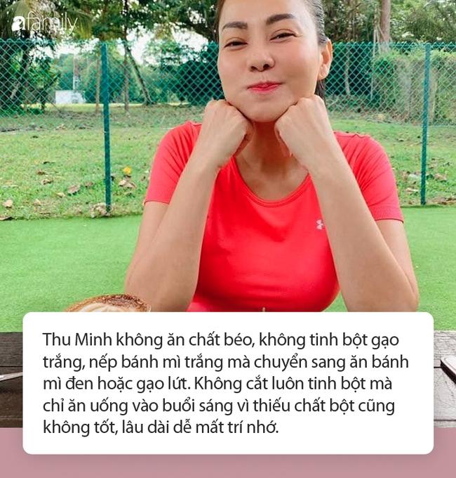 Ở tuổi 43, trải qua sinh nở, Thu Minh vẫn sexy thon gọn khiến gái đôi mươi phát thèm: 3 thói quen ăn uống được tiết lộ - Ảnh 2.