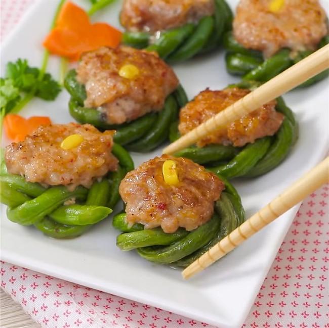 Mách chị em cách kết hợp thịt heo với đậu đũa để tạo ra món ăn không chỉ ngon mà còn đẹp mắt! - Ảnh 12.