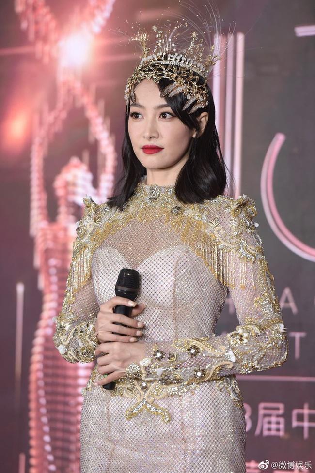 Tống Thiến từng gây tranh cãi tại giải Kim Ưng năm ngoái.