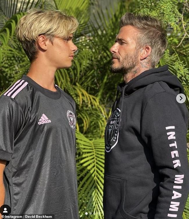 Bước sang tuổi 18, con trai thứ hai của David Beckham sở hữu vóc dáng cùng chiều cao nổi bật vượt xa cả anh trai và bố - Ảnh 4.