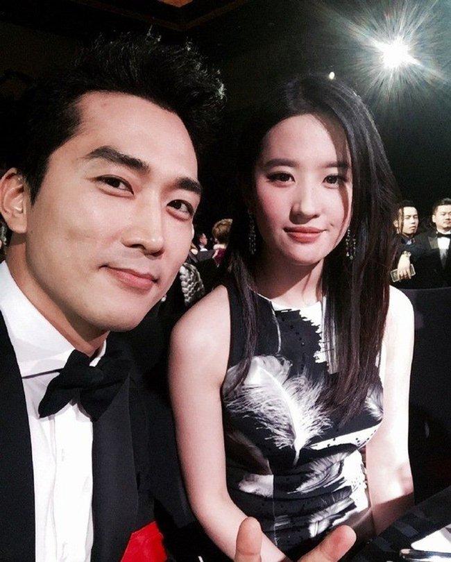 Lưu Diệc Phi - Song Seung Hun.