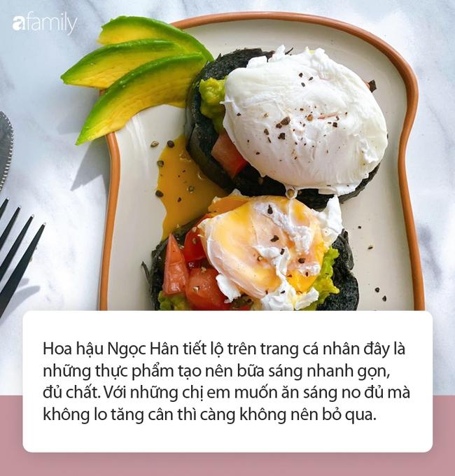 Khám phá bữa sáng vừa đủ chất vừa giữ dáng bao đẹp của hoa hậu Ngọc Hân - Ảnh 3.