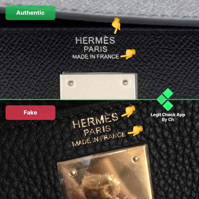 CEO ứng dụng check hàng giả mách chị em 4 bước phân biệt túi Hermes Kelly thật - giả như một tay chơi thứ thiệt - Ảnh 2.