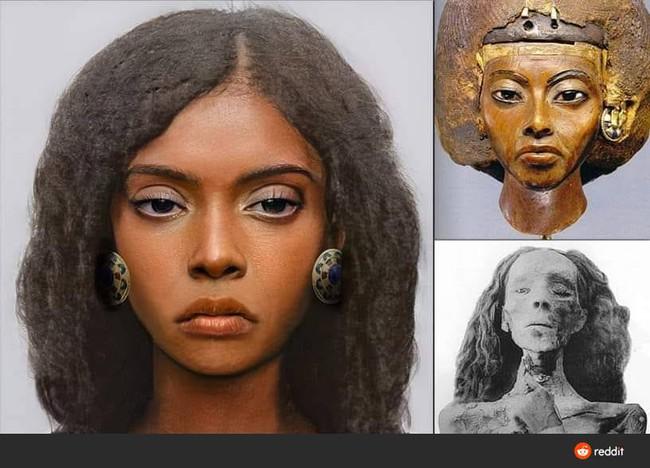 """Tái hiện gương mặt xác ướp bí ẩn """"quý bà nghìn tuổi"""", các nhà khoa học khiến dân mạng sửng sốt về vẻ đẹp phụ nữ xưa, sự thật có được như thế? - Ảnh 1."""