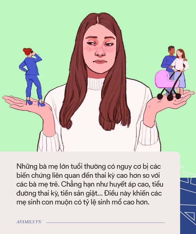 Những ưu và nhược điểm khi sinh con ở tuổi 20 và 30, các mẹ cần biết để cân nhắc - Ảnh 3.