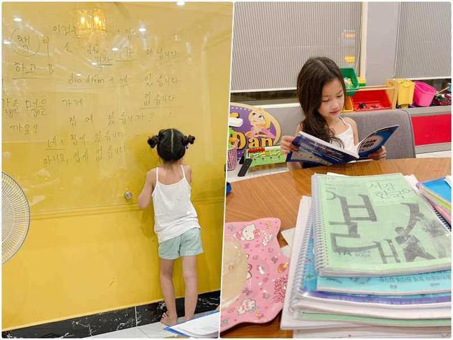 Ốc Thanh Vân cho 2 con học tiếng Hàn từ nhỏ, bật mí đó là thuyết âm mưu mới khiến phụ huynh khác phục sát đất - Ảnh 2.