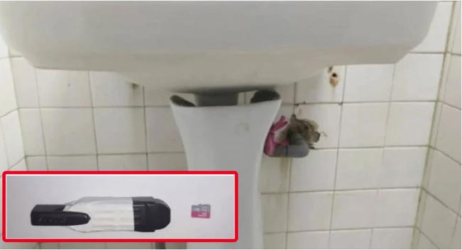 """Cài camera quay lén vùng kín phụ nữ trong nhà vệ sinh, gã đàn ông biến thái để lỗi """"hớ hênh"""" khiến cảnh sát không mất một chút công sức điều tra - Ảnh 1."""