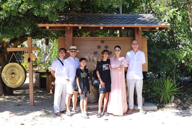Gia đình Hà Kiều Anh nghỉ dưỡng ở Nha Trang - Ảnh 1.