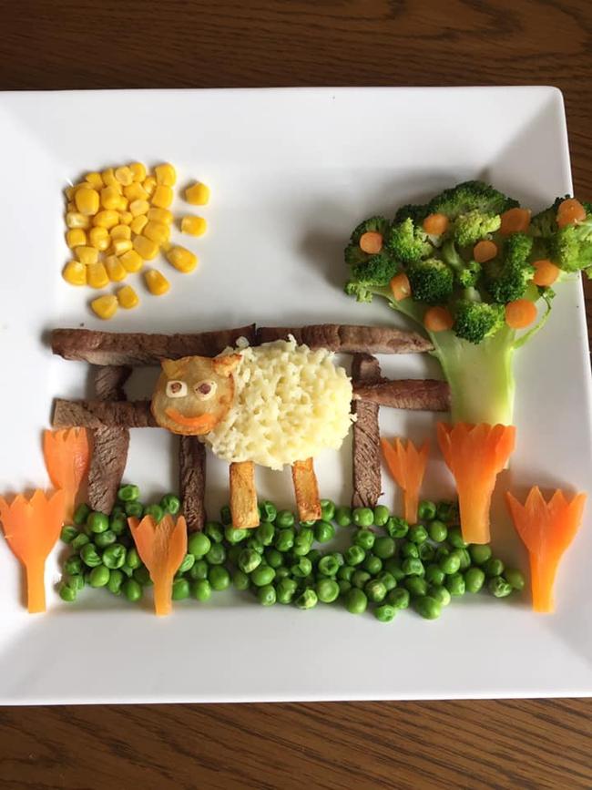 """Thấy con lười ăn rau, ông bố liền tạo nên """"bữa ăn hạnh phúc"""", nhìn thôi cũng thấy thèm - Ảnh 8."""