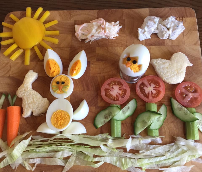"""Thấy con lười ăn rau, ông bố liền tạo nên """"bữa ăn hạnh phúc"""", nhìn thôi cũng thấy thèm - Ảnh 5."""
