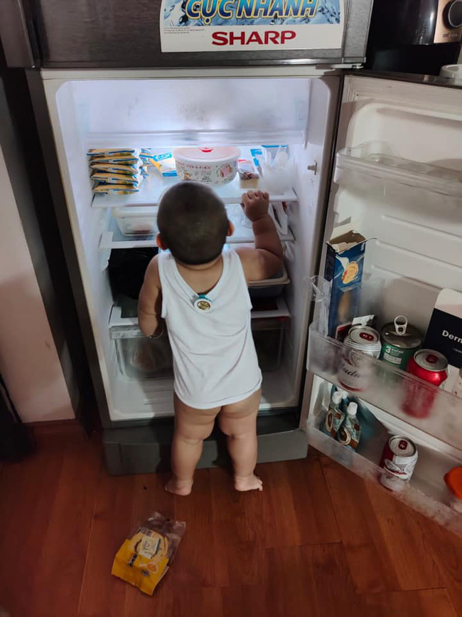 """Mẹ trẻ lên mạng cầu cứu vì con tối ngày mở tủ lạnh, ngờ đâu nhiều nhà còn chịu cảnh khủng khiếp hơn mà chỉ biết """"bó tay"""" bất lực - Ảnh 3."""