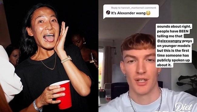 Nhà thiết kế gốc Á nổi tiếng thế giới Alexander Wang lại bị nam sinh viên tố tấn công tình dục với hành động biến thái giữa chốn đông người  - Ảnh 2.