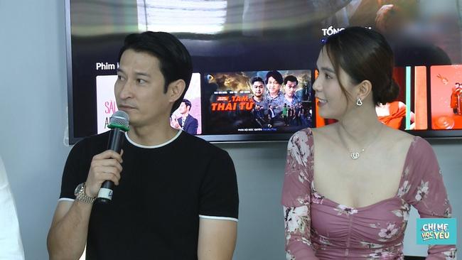 """Ngọc Trinh đóng cảnh """"nhạy cảm"""" với Huy Khánh, nam diễn viên không dám kể cho vợ biết - Ảnh 1."""