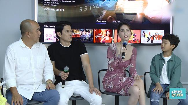 """Ngọc Trinh đóng cảnh """"nhạy cảm"""" với Huy Khánh, nam diễn viên không dám kể cho vợ biết - Ảnh 3."""