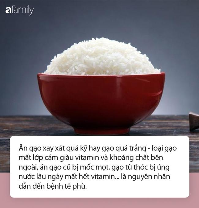 HLV truyền tải thông điệp ăn nhiều cơm trắng bị tê phù: Chuyên gia dinh dưỡng nhận định thế nào? - Ảnh 3.