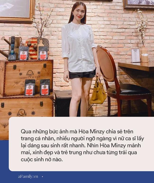 Hành trình dáng sau sinh cực đỉnh của Hòa Minzy: Vừa đẻ xong đã nuột nà nhưng vẫn có lúc lộ khuyết điểm, phải che giấu bằng cách này - Ảnh 6.
