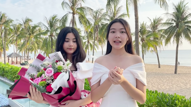 Chẳng những có nhan sắc, con gái Lọ Lem của Quyền Linh còn sở hữu tố chất đáng khen, chỉ nói một câu cũng toát lên khí chất Hoa hậu - Ảnh 4.