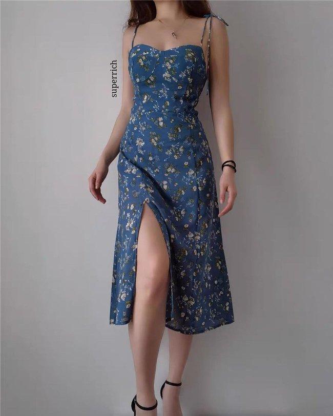 """12 mẫu váy hai dây diện đẹp từ đi chơi đến đi biển, nhìn giá chỉ từ 240k mà muốn """"rinh"""" hết về nhà - Ảnh 5."""