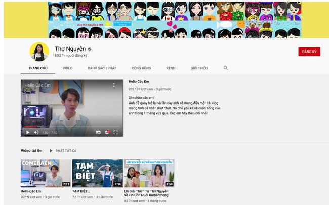 Kênh gần 9 triệu người theo dõi của Thơ Nguyễn bất ngờ đăng video mới, lộ thông tin về nữ Youtuber nổi tiếng trên kênh sẽ không còn xuất hiện - Ảnh 2.