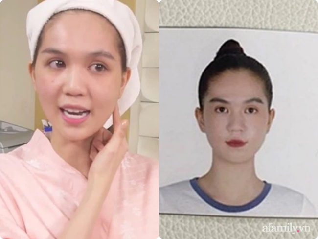 """So sánh mặt mộc với ảnh thẻ mới thấy các sao Việt luôn có chiêu make up """"lách luật"""" để cho ra một bức ảnh thẻ đẹp long lanh - Ảnh 6."""
